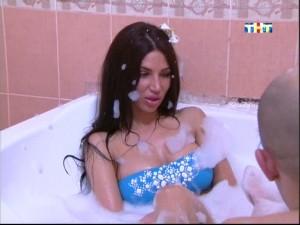 Евгения Толстогузова в купальнике