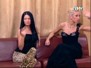 Женя Феофилактова на Тет-а-тет