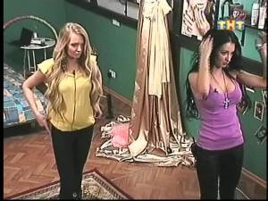 Даша Пынзарь и Женя Феофилактова