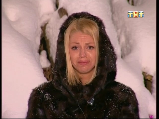 Плачущая Стрункина на лобном месте