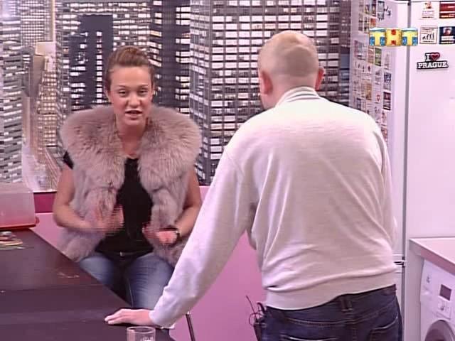 Валерия отчитывает Николая