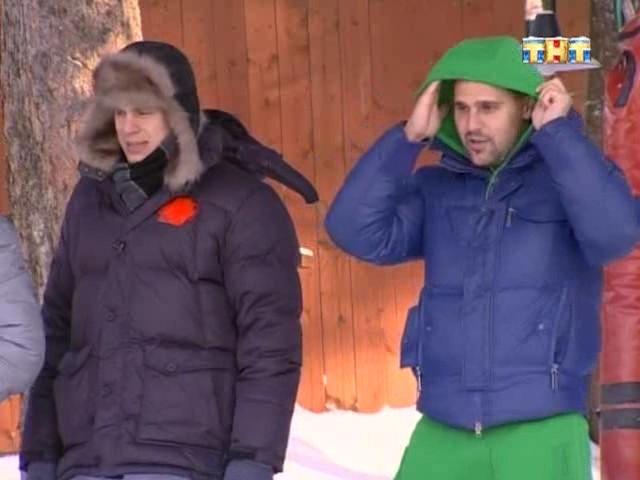 Ваня и Сергей Пынзарь, который вел стройку