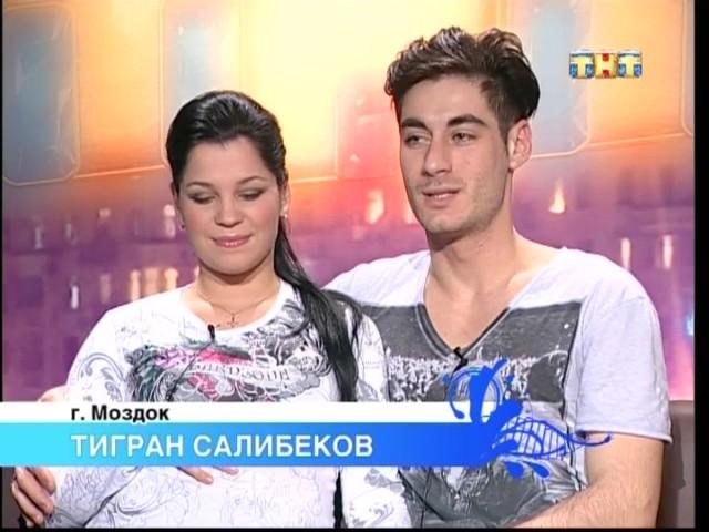 Юля и Тигран Салибековы родили мальчика