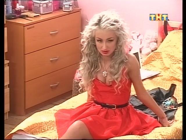 Лилия Киш в красном