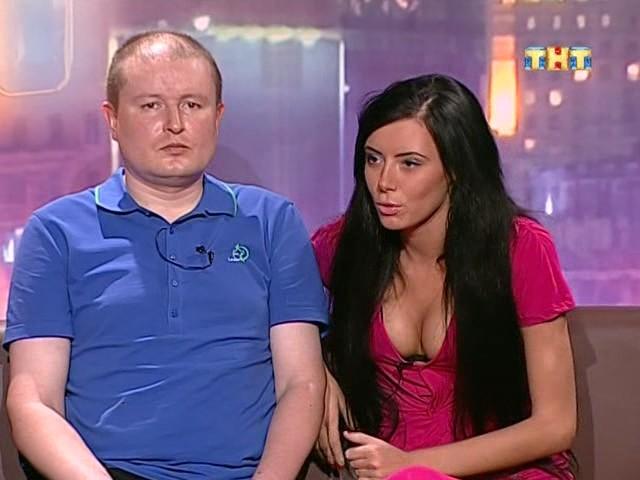 Настя и Николай на лобном