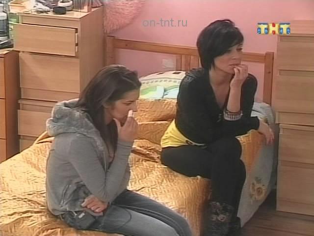 Аня и Кристина понимают, что в голосовании против Кузина их ни кто не поддержит